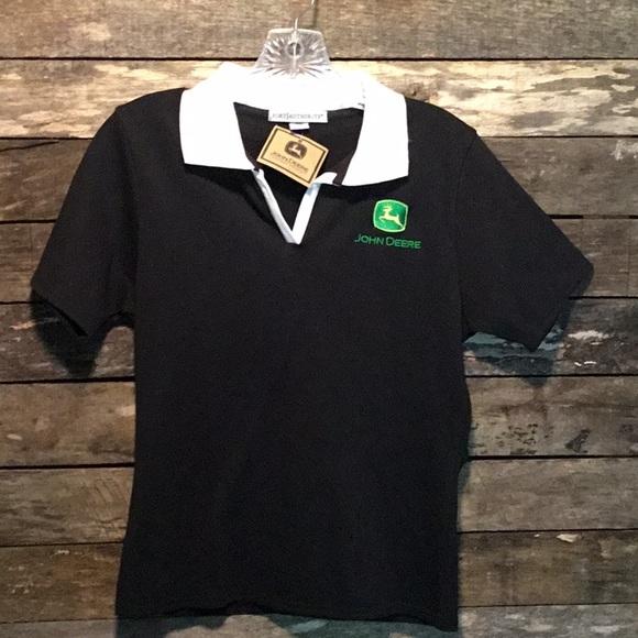 16ae1abf John Deere Tops | Ladies Fit Polo Shirt Nwt | Poshmark